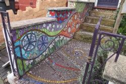 Mosaic one day workshop for adults with Caroline Jariwala
