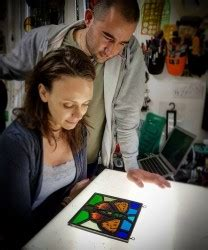 'Art of Stained Glass - Glass Leading and/or Glass